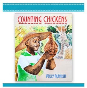 Counting Chickens by Polly Alakija children looking after animals