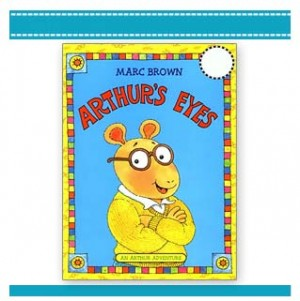 ARTHUR'S EYES kids book