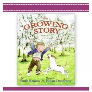 THE GROWING STORY childrens Book