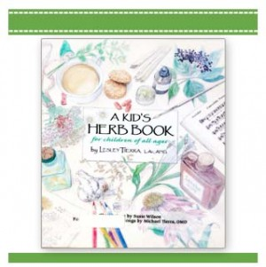 A KID'S HERB BOOK Lesley Tierra and Suzie Wilson