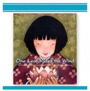 ONE LEAF RIDES THE WIND Childrens Book