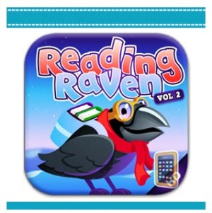 2014 Reading Raven lean to read app iPad and iPhone.