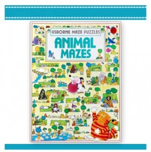 animal mazes puzzle book