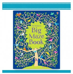 BIG MAZE BOOK USBORNE