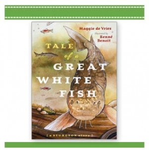 Tale of a Great White Fish - Children's book by De Vries and Benoit