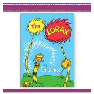 The Lorax - Eco Book by Dr Seuss